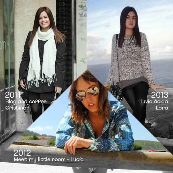 Mejores bloggers gallegas de años anteriores